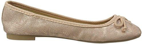 New Look Jakey Met, Zapatillas de Ballet Mujer Dorado (Rose Gold)