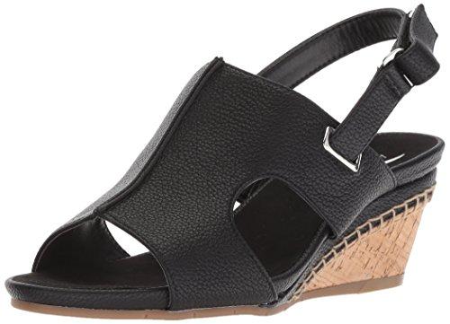 ortcake Sandal, Black Soft, 9 M US ()