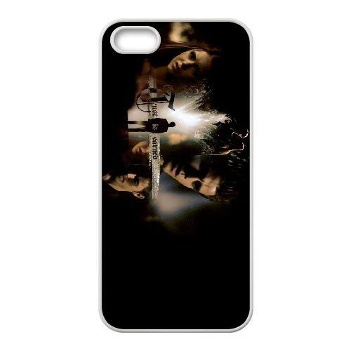 The Vampire Diaries 008 coque iPhone 4 4S cellulaire cas coque de téléphone cas blanche couverture de téléphone portable EOKXLLNCD20286