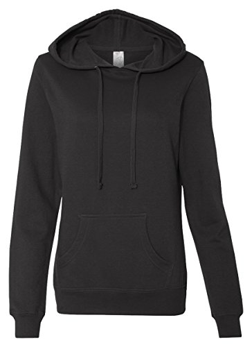 Independent Trading Co. - Juniors' Heavenly Fleece Lightweight Pullover Hooded Sweatshirt - SS650