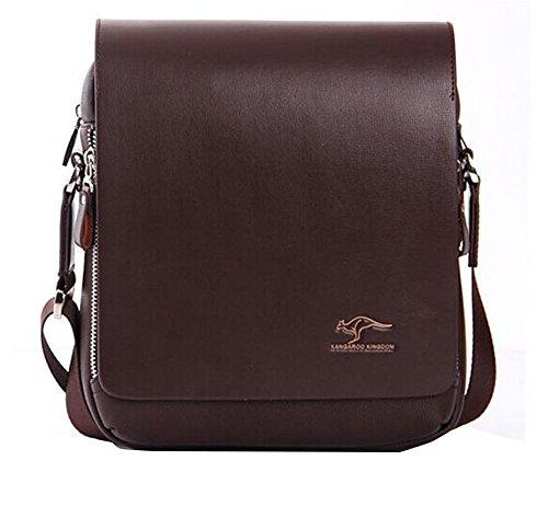 Econoled Men's Genuine Leather/pu Authentic Kangaroo Kingdom Shoulder Bag Messenger Bags