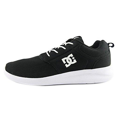 White Skate DC Shoe Black Shoe Midway White Skate Mens Midway DC Mens Mens DC Black 6rAwqR6xP