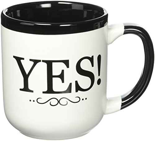 Coffe Mug for Grandma: The Answer is Yes! Grandparent Gift Mug
