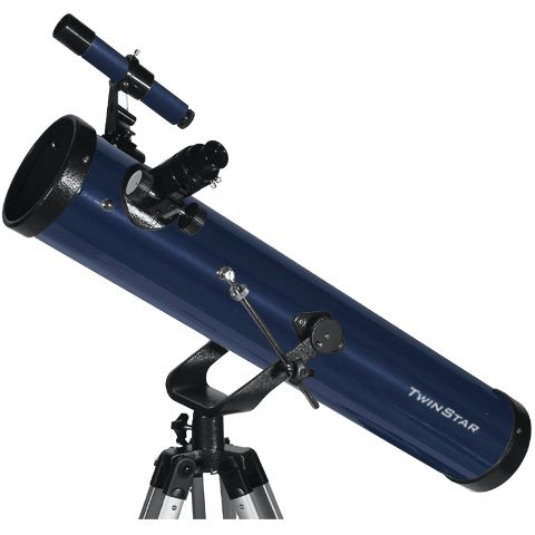 Blue TwinStar FirstStar 3'' Reflector Telescope by Twin Star