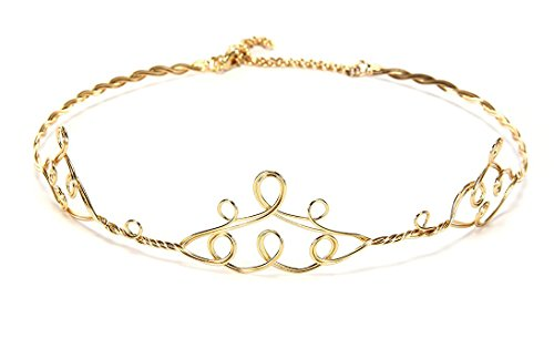 Delicate Elven Princess Circlet Style product image