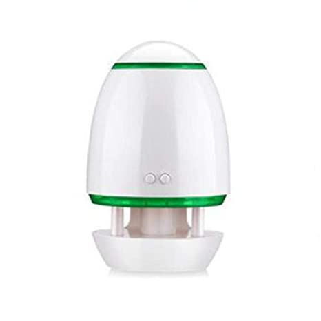 MIAOQIONG Mini USB humidificador ultrasónico Silencio aromaterapia Escritorio atomizador purificador del difusor del Aroma Deshumidificadores humidificador atomización, Verde: Amazon.es: Hogar