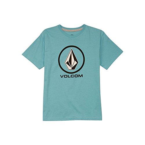 Boys Genuine Shirt (Volcom Big Boys' Crisp Stone Basic Fit Short Sleeve Tee)