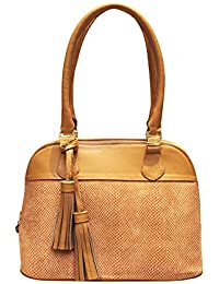 Magali Satchel Leather Bag
