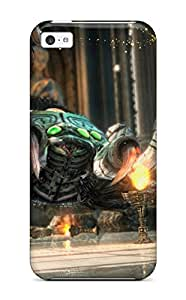 Rugged Skin Case Cover For Iphone 5c- Eco-friendly Packaging(zelda On Wii-u)