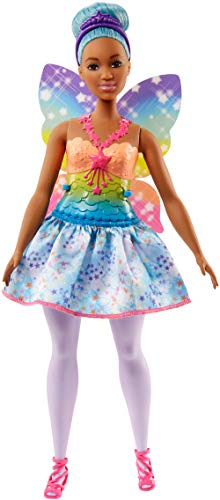 Barbie Dreamtopia Rainbow Cove Fairy Doll, Blue