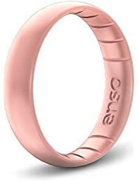 Thin Elements Silicone Ring | Handmade in The USA | The Premium Fashion Forward Silicone Ring | Infused with Precious Metals & Timeless Luxury | Lifetime Quality Guarantee
