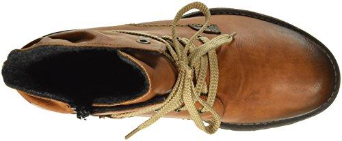 24 Kastanie Women's Ankle Cayenne Rieker 70829 Brown Boots ZYn6w0