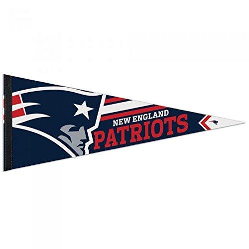 (WinCraft NFL 14519115 New England Patriots Premium Pennant, 12