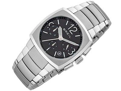 Breil Men's ROD Black Chronograph Watch TW0753
