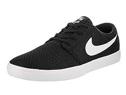 Nike Sb Portmore Ii Ultralight Men's Skate Shoes (10 D(m) Us, Blackwhite)