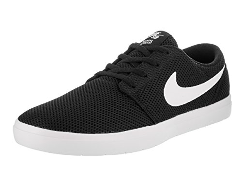 Nike Sb Portmore Ii Ultralight Herren Skate Schuhe Schwarz-Weiss