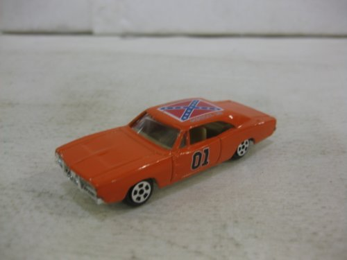 Dukes Of Hazzard General Lee Car In Orange Diecast 1:64 Scale By Ertl by diecast 164 scale