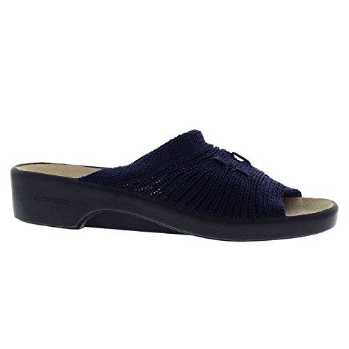 Arcopedico Womens Splash Nylon Sandals Blue