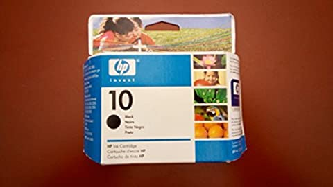 Hew-Is-Hp C4844A-Hp 10 Inkjet Cartridge Inkcart ,No. ,Hicap ,Bk E10B Burg (Pack Of 2 (Hp Cartridge 10)
