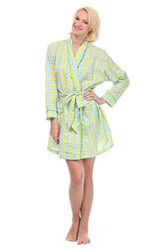 Malabar Bay Women's Penny Robe Medium Blue by Malabar Bay, LLC