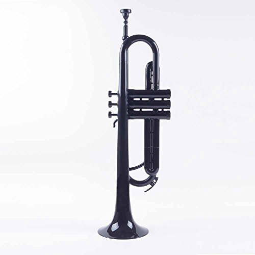 PAMPET Professional Plastic Trumpet Bb trumpet (Black) by PAMPET (Image #1)