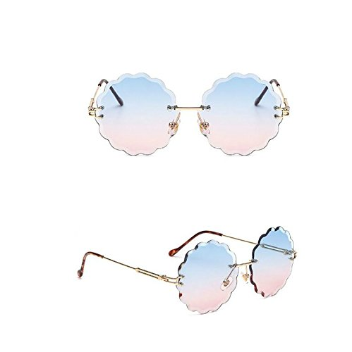 imagen con Flor de muestra Llama y Gafas la 7cm sin Corte Diamante Forma UV400 7x5 12 como Sol 7x13 Naranja Fishroll de de YBzqxRt
