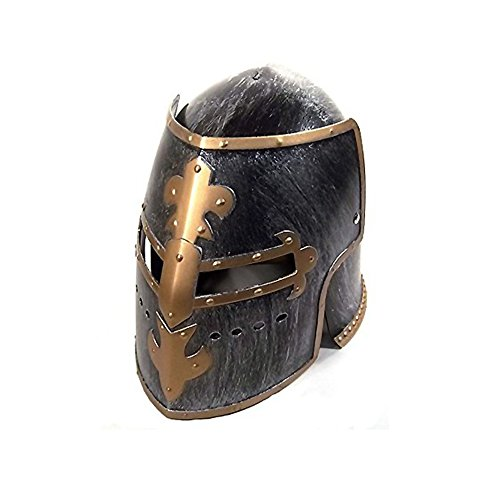 Trojan Soldier Costumes (Spartan Knight Helmet Greek Adult Costume Accessory 300 Warrior Trojan Soldier)