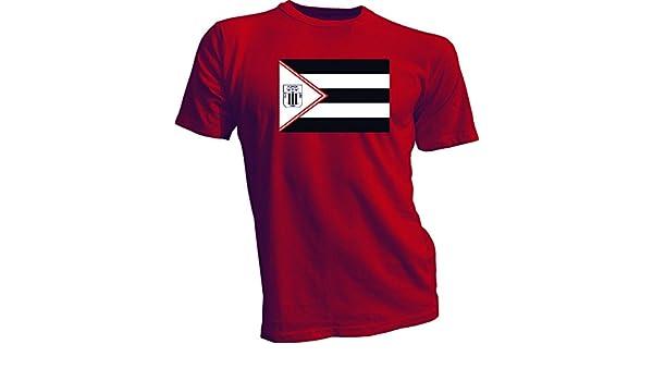 Alianza Lima Perú Futbol fútbol bandera Banner rojo camiseta camiseta Nuevo Tamaño S-4 x: Amazon.es: Deportes y aire libre