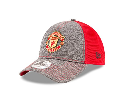 international-soccer-manchester-united-adult-shadow-turn-9forty-adjustable-cap-one-size-graphite