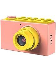 Kriogor Mini Caméra Enfant, 2 Pouces Appareil Photo Numérique 8 mégapixels pour Filles Garçon