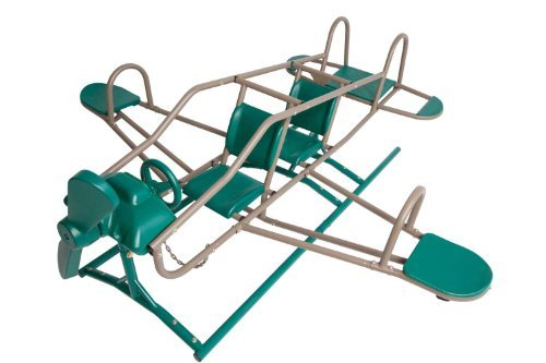 Playground Seesaw (Lifetime 90135 Ace Flyer Teeter Totter, Earthtone)