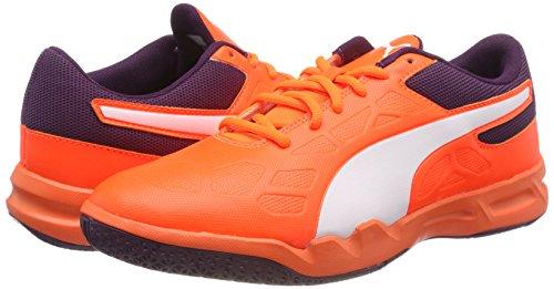 Chaussures Orange Blanc Indoor puma ombre Unisextrme Adultes Puma Multisport Pourpre Tenaz d1CdHwq