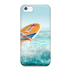 Fashion Protective Beautiful Surfer Case Cover For Iphone 5c