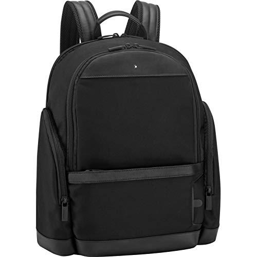 Montblanc Nightflight Medium Nylon Backpack- Black
