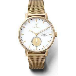 Triwa Women's Quartz Svalan Watch analog Display and Gold Plated Strap, SVST105-MS121313
