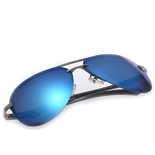 ZHOUKE Outdoor Fashion Classic Retro Polarized Personality Wayfarer - Offer Specsavers Sunglasses