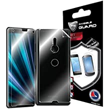 IPG for Sony Xperia XZ3 (Fullbody) Protector Invisible Touch Screen Sensitive Ultra HD Clear Film Anti Scratch Skin Guard - Smooth/Self-Healing/Bubble -Free Screen & Back