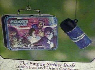 The Empire Strikes Back Lunch Box and Drink Container 2 piece set 2001 Hallmark Keepsake ornament QEO8585 by Unknown 2 Hallmark Keepsake Ornament