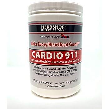 Amazon.com: New Berry Flavor Cardio 911 Heart Health L ...