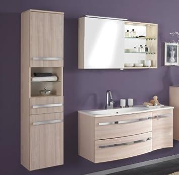 Badezimmer set pinie honig badezimmermöbel waschtisch waschplatz ...