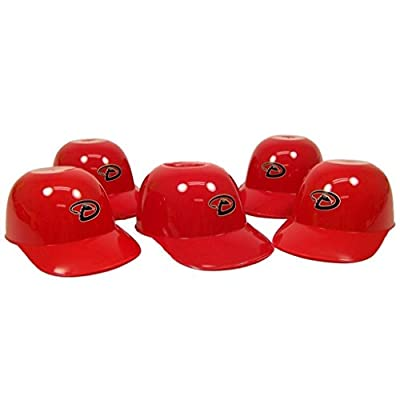 MLB Mini Batting Helmet Ice Cream Sundae/ Snack Bowls-5 Pack