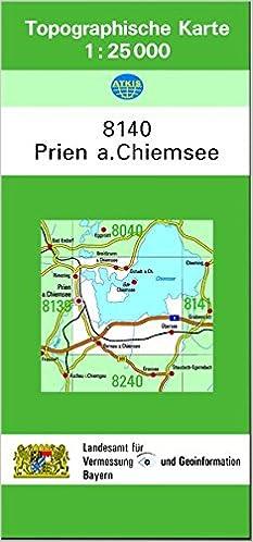 Chiemsee Karte.Tk25 8140 Prien A Chiemsee Topographische Karte 1 25000 Tk25