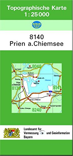 Prien Am Chiemsee Karte.Tk25 8140 Prien A Chiemsee Topographische Karte 1 25000 Tk25