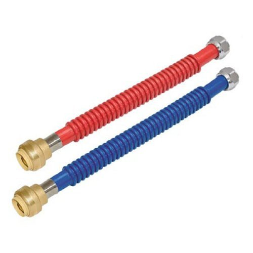 Compare price pex faucet connector on for Pex water heater connector