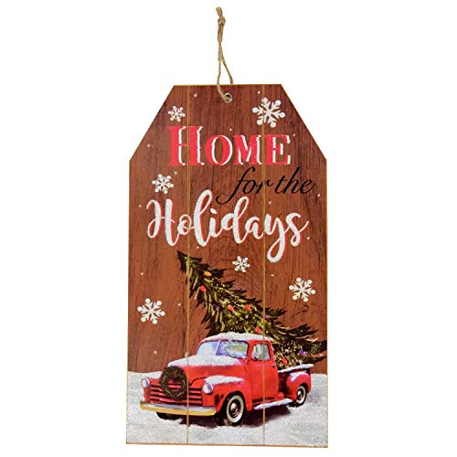 Merry Christmas Decor Wooden Sign Board 14