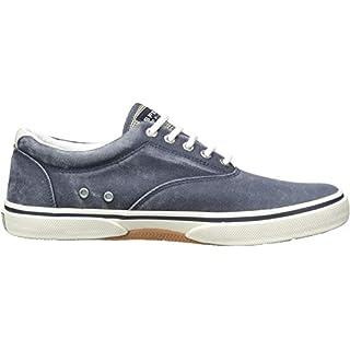 Sperry Men's, Halyard Sneaker Saltwash Navy 13 M
