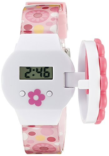 Disney Minnie Mouse Kids' MINKD679 Digital Display Quartz Multi-Color Watch Set - Disney Interchangeable Watch