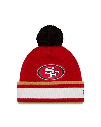 (NFL San Francisco 49ers Team Relation Knit Beanie, One Size, Red)