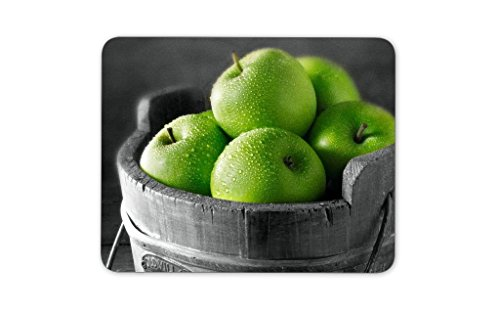 Digiclan Fresh Green Apples Mousepad