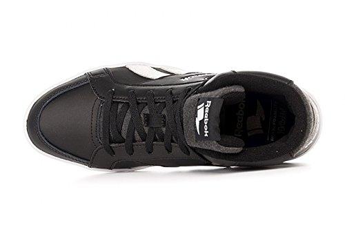 Reebok Royal Kewtee ml, Zapatillas de Deporte para Mujer Negro (Black / White)